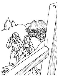 Easter Coloring Book Page