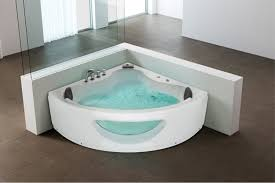 Jetted Bathtubs For Two by Bathtubs Appealing Corner Jetted Bathtub 56 Eago Am R White