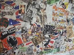 Joe Strummer Mural Address by Jamie Reid Art Jamie Reid Artist Pistols Art Punk Art