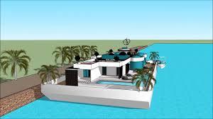 100 Lake Boat House Designs Stylish Contemporary Floating House Boat Design By Creator Mikkel Slbeck In Fontana Caliraya C
