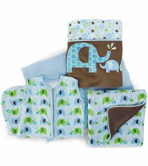 Dumbo Crib Bedding by Skip Hop Complete Sheet 4 Piece Crib Set Elephant Parade
