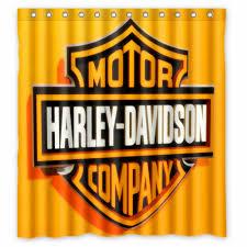 Harley Davidson Bath Decor by Fine Harley Davidson Bathroom Shower Curtains 94 Just Add Home