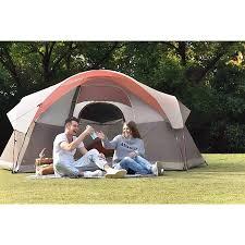 104 Studio Tent Mf 6 Person Dome Family Camping 14 X 10 Orange Accuweather Shop