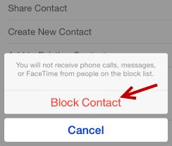 How Do I Block or Unblock Someone from Calling or Sending Messages
