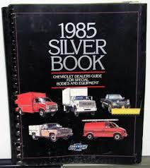 1985 Chevrolet Truck Dealer Special Bodies Equipment Accessories ...