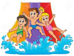 Fun Pool Party Digital Vector Clip Art Summer Clipart Design