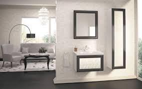 badmöbel set gamma 70 badmöbel mit waschbecken weiss schwarz beige mdf matt