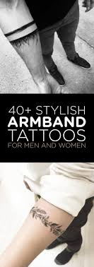40 Stylish Armband Tattoos For Men Women