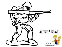 Toy Soldier Coloring Page You Can Print Out This Army Now