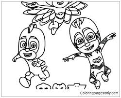 Coloring Pages For Pj Masks New 105 Full Screen Download Print Picture