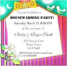 Idea Housewarming Invitation Templates Free Download And Wording Plus Template Vector To