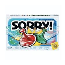 Sorry Game Amazon Exclusive