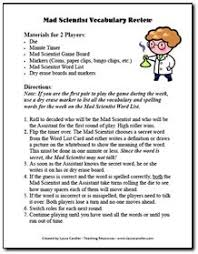 Fun Drawing Game For Spelling And Vocabulary