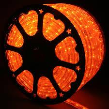 Orange LED Rope Lights 148FT RLWL 148 OR Direct Lighting