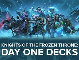 Overload Shaman Deck Frozen Throne by Knights Of The Frozen Throne Card Tracker Thescore Esports