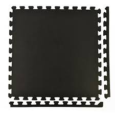 greatmats sport plus designer black 2 ft x 2 ft x 0 39 in