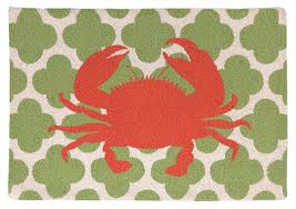 Bathroom Rug Runner 24x60 by Nautical Rugs For Decorating Home With Beach Theme