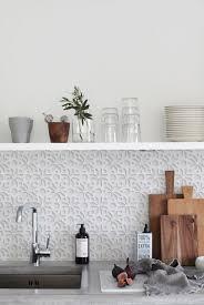 white 3d 1405 kitchenwalls backsplash wallpaper kitchen