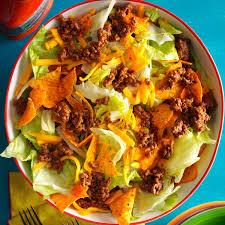 Easy Ground Beef Taco Salad Recipe