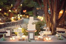 Rustic Wedding Dessert Table Ideas