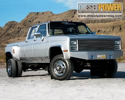 100 Chevy Dually Trucks 1980 Silverado 4x4 66L Duramax Diesel 6 Speed