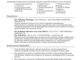 Resume Templates New Grad Nursing Sample Format Rn Unusual Cv Doc
