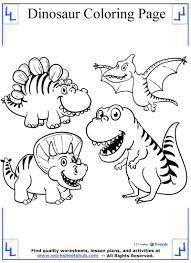 Baby Allosaurus Coloring Pages Cartoon Dinosaurs Page Printable Dinosaur Full Size