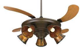Retractable Blade Ceiling Fan India by Fanimation Fp825ob 43 Inch Air Shadow Traditional 5 Blade Ceiling