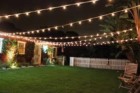 Backyard Party Lights Elegant Lighting With Mesmerizing