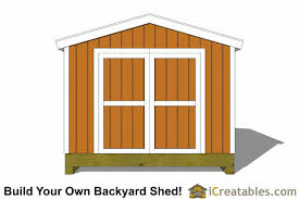 10x14 Garden Shed Plans by 10x14 Gable Shed Plans Icreatables Sheds