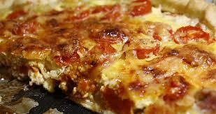 pates au thon moutarde quiche au thon tomates cerises et moutarde les délices de letiss