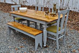 Heir And Space: A Fabulous Farm Table Set In Gray Lindsey Farm 6piece Trestle Table Set Urban Chic Small Ding Bench Hallowood Amazoncom Vermont The Gather Ash 14 Rentals San Diego View Our Gallery Lots Of Rustic Tables Jesus Custom Square Farmhouse Farm Table W Matching Benches Reclaimed Chestnut Wood Harvest Matching Free Diy Woodworking Plans For A Farmhouse Handmade Coffee Ashley Distressed Counter 4 Chairs Modern Southern Pine Wmatching Bench