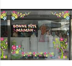 vitrine fete des meres fleuriste fête des mères retif