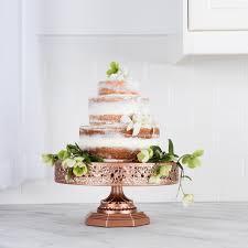 Rose Gold Copper Cake Stand