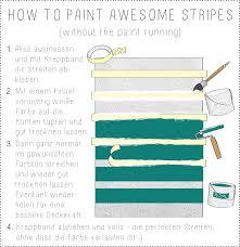 wandmuster streifen ideen wandgestaltung wohnzimmer farbe