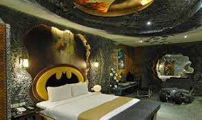 teen room bedroom batman theme cool boys room with smooth white