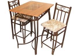 3 Piece Kitchen Table Set Walmart by Kitchen 3 Piece Kitchen Bistro Set With 34 Dining Table Four