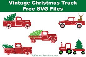 100 Free Truck Christmas SVG Files Christmas Truck Christmas