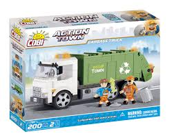 Cobi - Action Town 1780 - Garbage Truck Bruder Man Tgs Rear Loading Garbage Truck Green Jadrem Toys Lego Juniors Walmartcom Mini Left Side By Wlart12 On Deviantart Free Lego City Polybag With Unique 4432 Laser Pegs 12013 12in1 Building Set Walmart Canada 2016 60118 Unbox Build Time Lapse Runaway Trash Coloring Page Tagged Refuse Brickset Set Guide And Database Kids Ebay Nekos Room Unboxing The