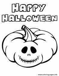 Happy Halloween Coloring Sheets For Kids To Printe7ab Pages