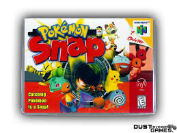 Pokemon Snap N64 Nintendo 64 Game Case Box Cover Brand New ...