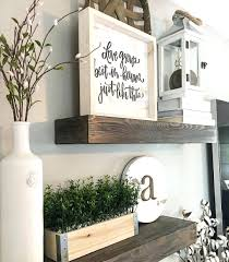 Shelf Design Storage Floating Shelves Wood Farmhouse Decor Style Modern Lantern Kitchen Ledge Decorating Ideas