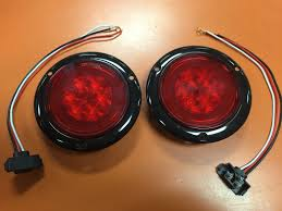 2 RED LED 4″ Round Truck Trailer Brake Stop Turn Tail Lights With ... 4 Inch Red 24 Led Round Stopturntail Truck Trailer Light 3 Wire Db5061 24v 90leds 7 Functions Universal Led Truck Rear Light For Emark 140mm 20led Stop Tail Lights Amber Left Right Atomic Strobing Cab Marker Kit Ford Aw Direct 21 Series High Mounted 16 Diode Rectangular Amazoncom Lamphus Sorblast 34w Cstruction Tow Quick Attacklight Rescueheiman Fire Trucks 2018 12 Led Turn Flush Mount Lite Headlights Rigid Industries 55001 Wrangler Jk Headlight Trucklite Pair Luxury Fog F24 In Stunning Image Selection With 44104y Super 44 Flange Yellow Warning