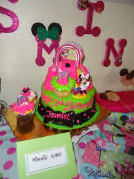 Used the diva themed cake from publix to correlate with the minnie