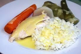 recette poule au pot riz recette poule au pot en sauce blanche et riz cuisinez poule