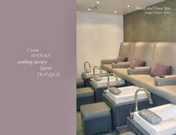 Nail Spa Salon Design Image Gallery Interior For