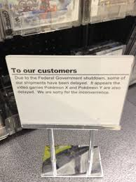 100 Stupid People And Folding Chairs Pokmon Is The Latest Casualty Of The Government Shutdown