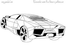 Gorgeous Inspiration Lamborghini Coloring Pages To Print Alluring Online For Kid