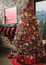 Pre Lit Lightly Flocked Christmas Tree