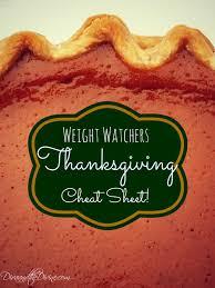 Weight Watchers Pumpkin Fluff Nutrition Facts by Weight Watchers Thanksgiving Cheat Sheet Thanksgiving Holidays